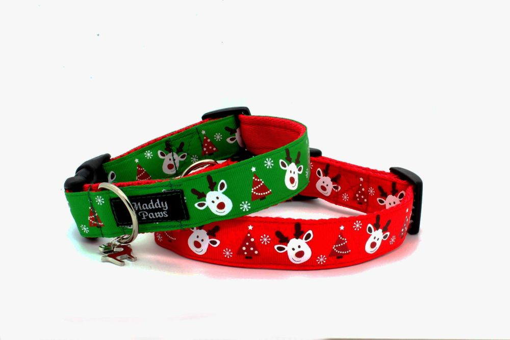 Christmas Reindeer Collar