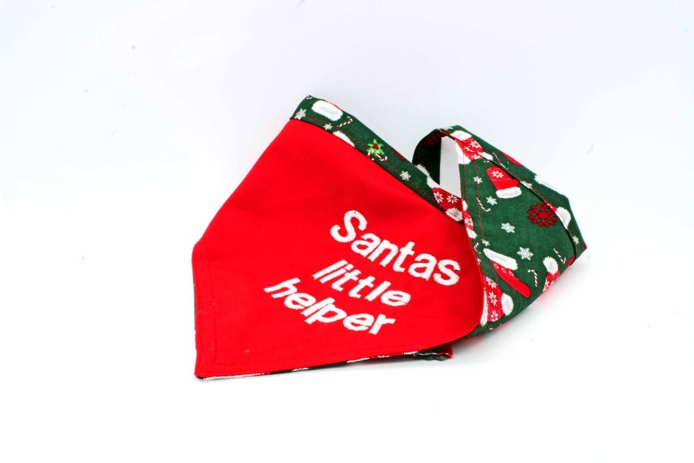 Santas cloths reversable Bandana