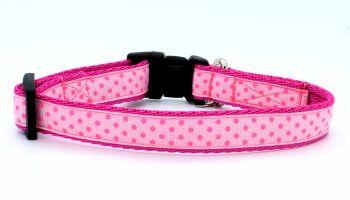 Pink spot Collar
