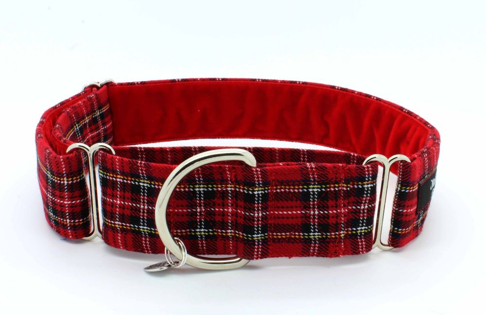 Royal Stewart Hound Collar