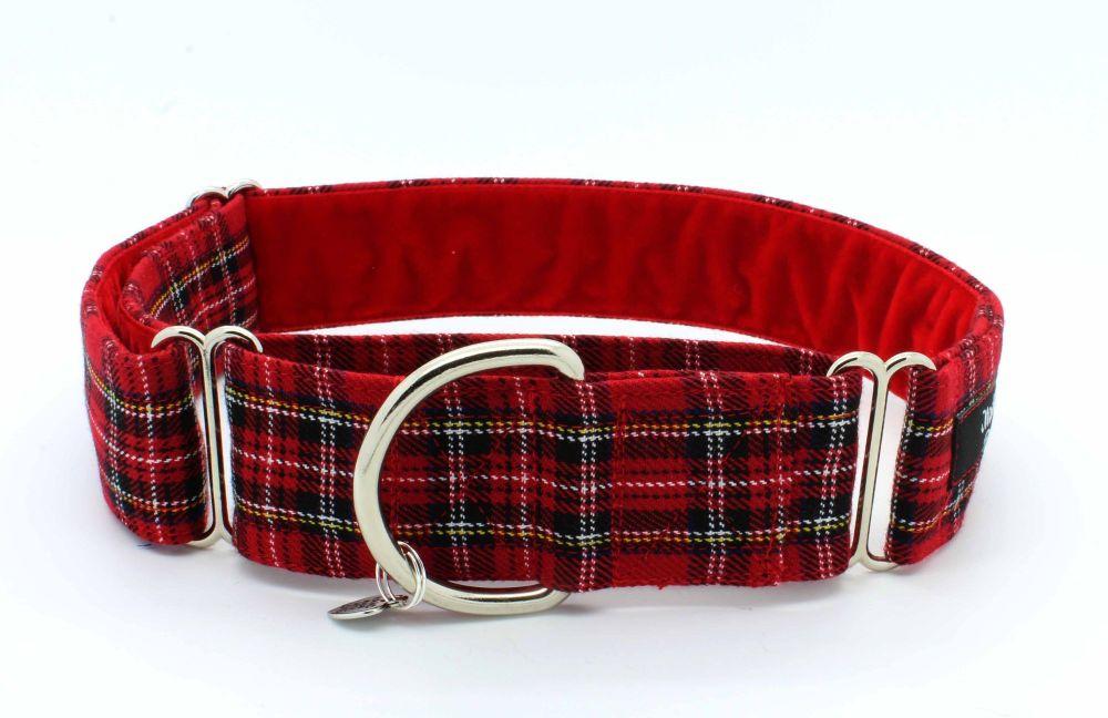 Royal Stewart Hound Collar