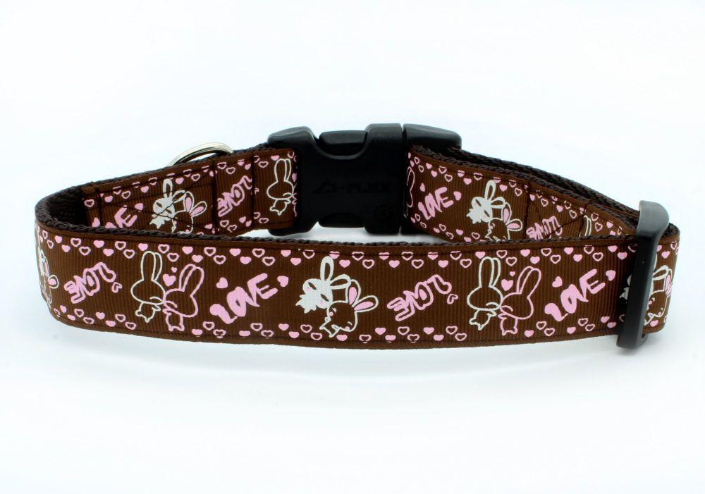 Brown Rabbits Collar