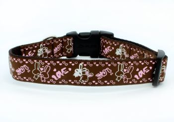Brown Rabbits Collar
