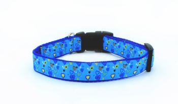 Blue Hearts Collar