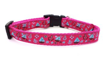 Pink Nautical Collar