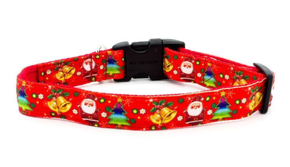 Santa/Bells Collar