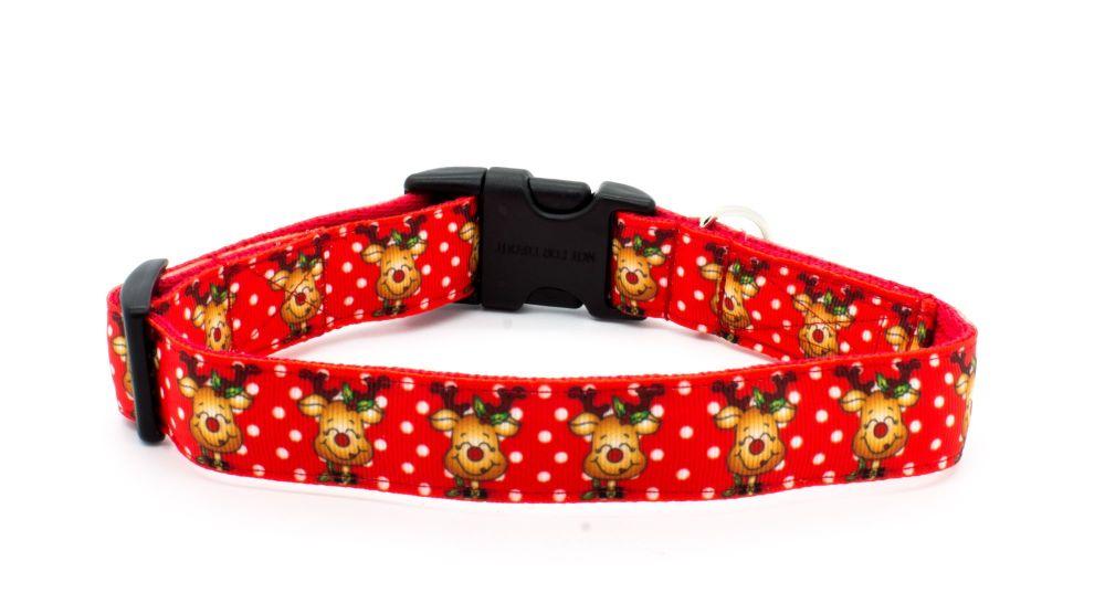 Happy Rudolph Collar