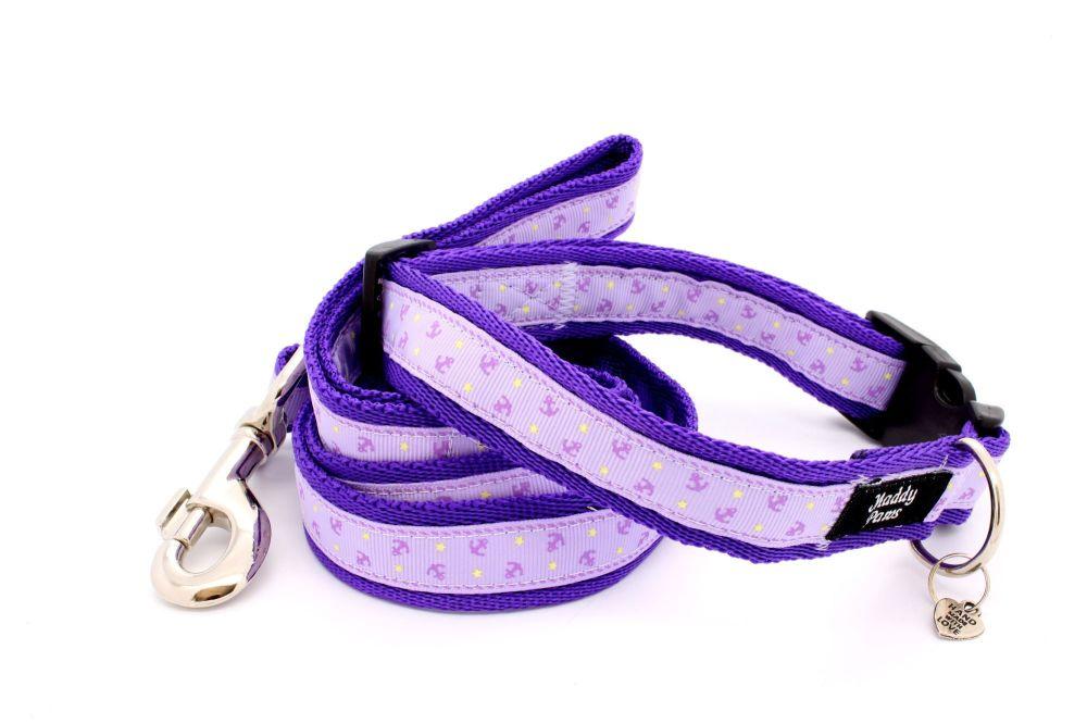 Lilac Anchors Collar