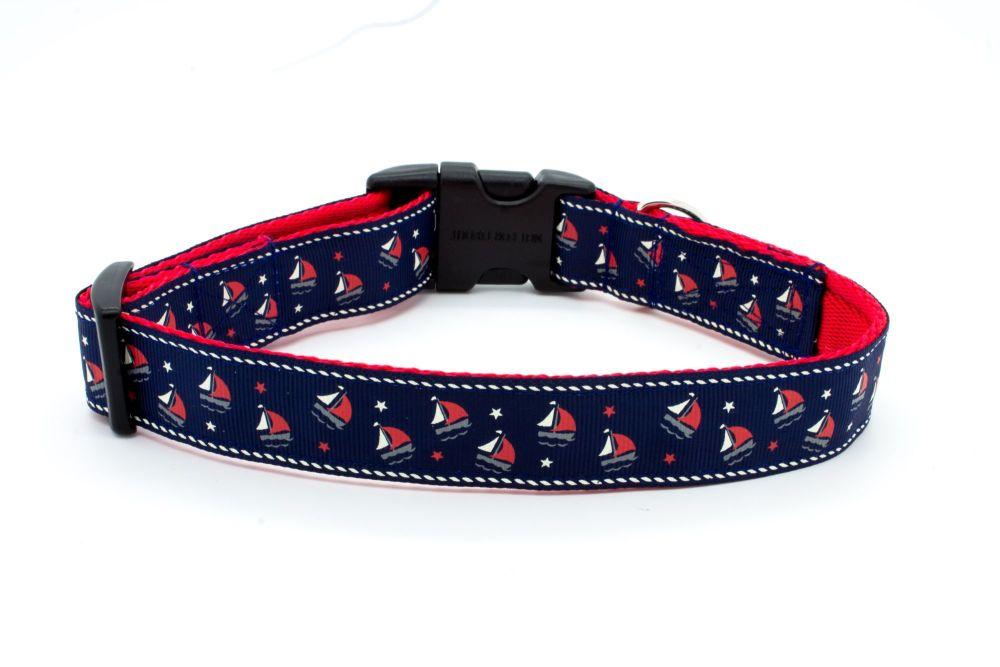 Navy Sailing Yachts Collar