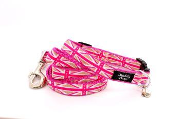 Pink Union Jack Collar