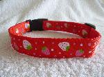 Red strawberries Collar