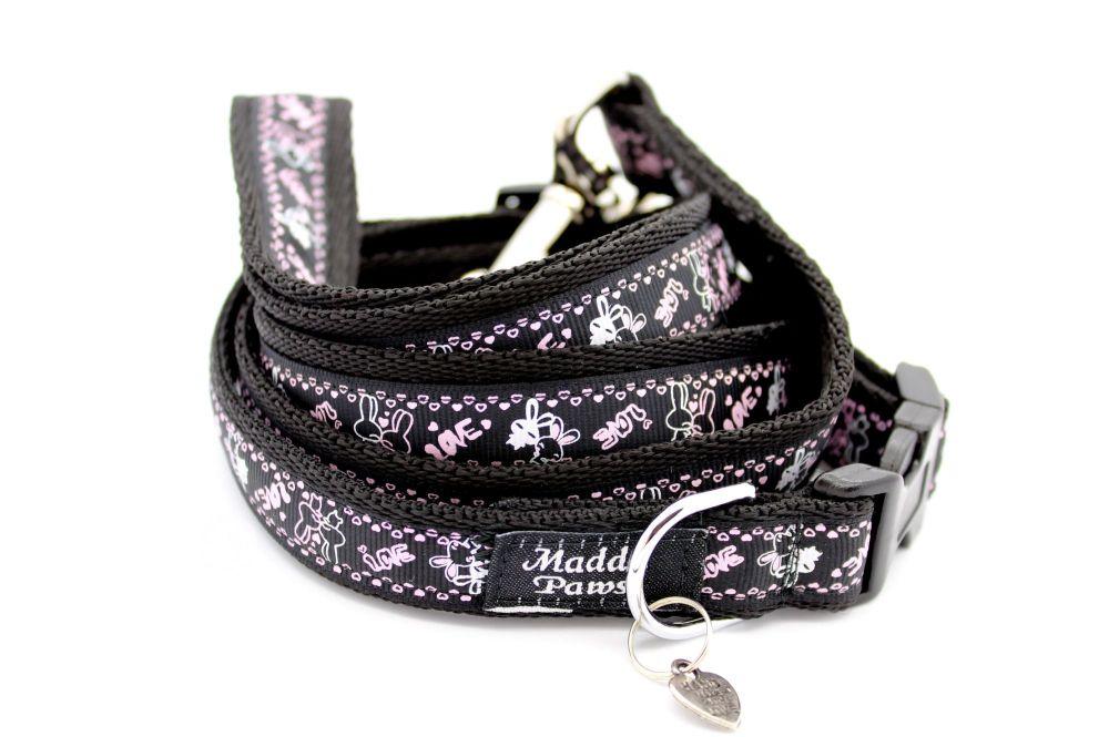 Black rabbits Collar from