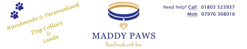 Maddy Paws, site logo.