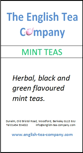 Mint Teas