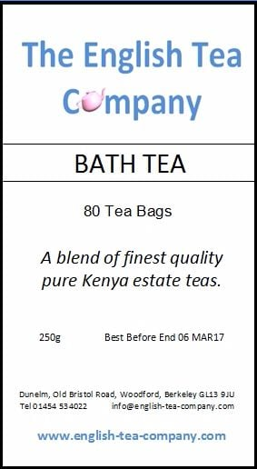Bath Tea, Kenya blend tea bags