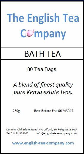 Bath Tea, Kenya blend tea bags