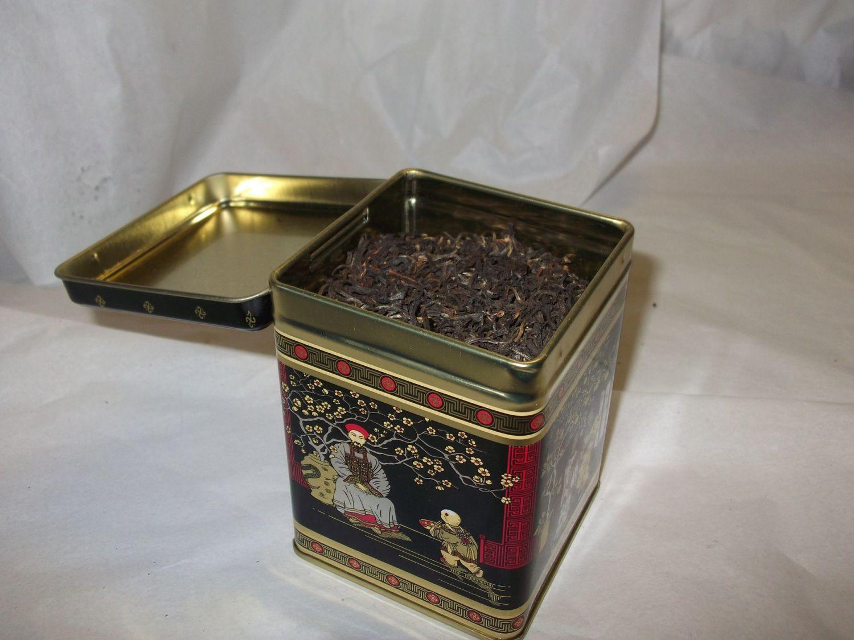 Small tea caddy