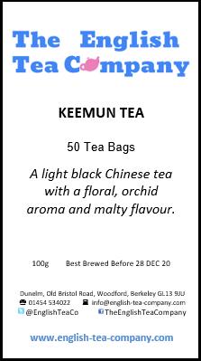 Keemun Tea 50 Tea Bags