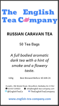 Russian Caravan Tea 50 Tea Bags