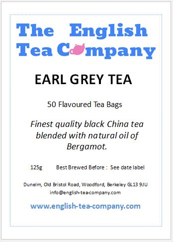 Earl Grey Tea Bags - 50 (125g)