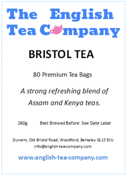 Bristol Tea - 80 Tea Bags