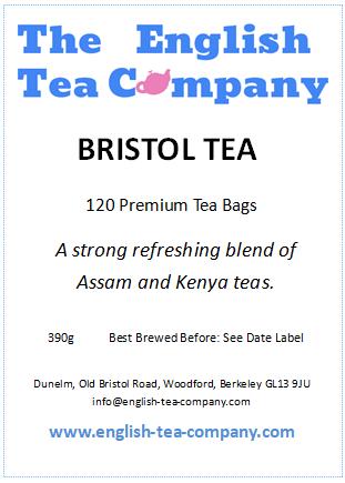 Bristol Tea - 120 Tea Bags