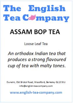 Assam Tea BOP - 125g