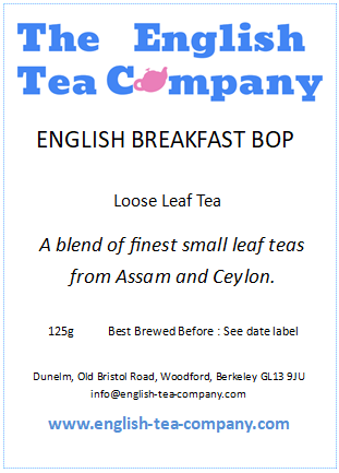 Loose English Breakfast Tea