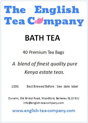 Bath Tea in bags