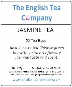 Jasmine Tea 50 Tea Bags