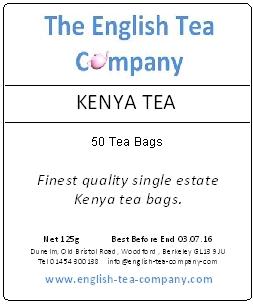 Kenya Tea 50 Tea Bags