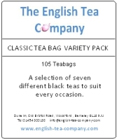 The Classic Tea Bag Variety Pack.