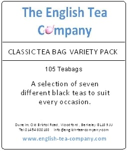 classic tea bag variety pack