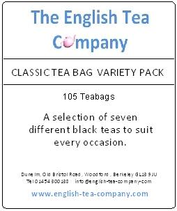 classic tea bag variety pack