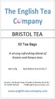 Bristol Tea - 50 (one cup) tea bags (125g)