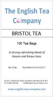 Bristol Tea - 100 (one cup) tea bags (250g)