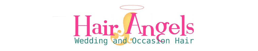Hair Angels, site logo.