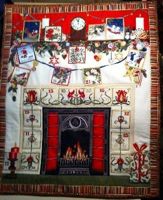 Advent Calendar - Fireplace