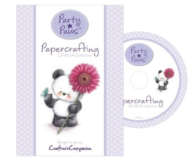 Crafter's Companion - Party Paws Papercrafting Collection CD