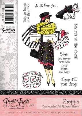 Crafter's Companion Frou Frou Range Stamp Set - Shoppe