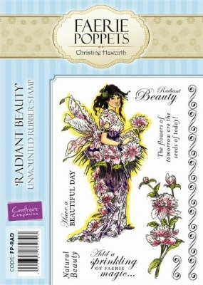 Crafter's Companion Faerie Poppets Stamp Set - Radiant Beauty