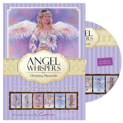 Crafter's Companion Angel Whispers Range - Papercrafting CD