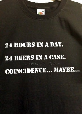 Humorous Beer Adult T-Shirt