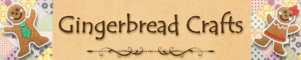 Gingerbread Crafts, site logo.