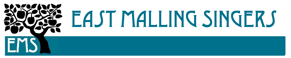 East Malling Singers, site logo.
