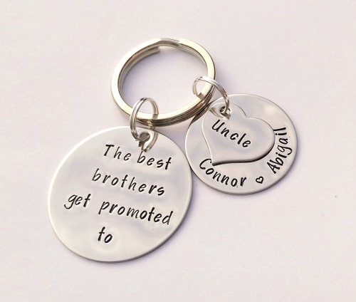 The best brothers get promoted to uncle keyring