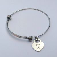 Personalised to-go coffee cup bracelet