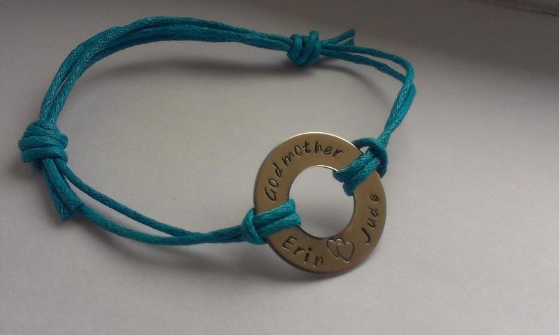 bracelet cord godmother