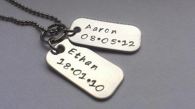 Mini dog tags