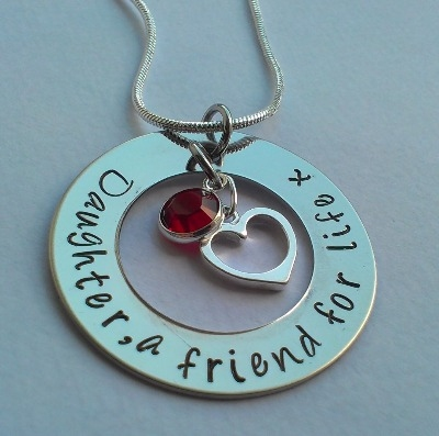 Daughter, a friend for life pendant